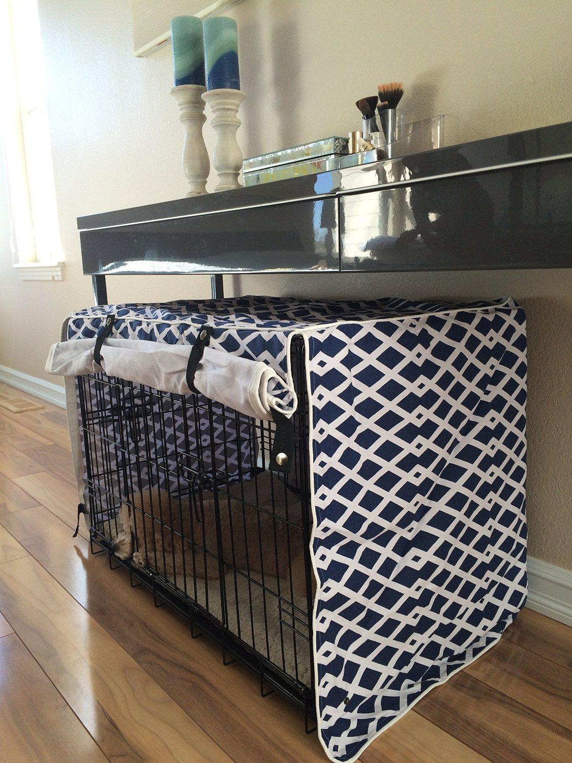 dog crate covers  all pet cages - if you're a fashionable dog owner going for designer dog crate coverswould be most ideal for you these types of covers come in differentdesigns and