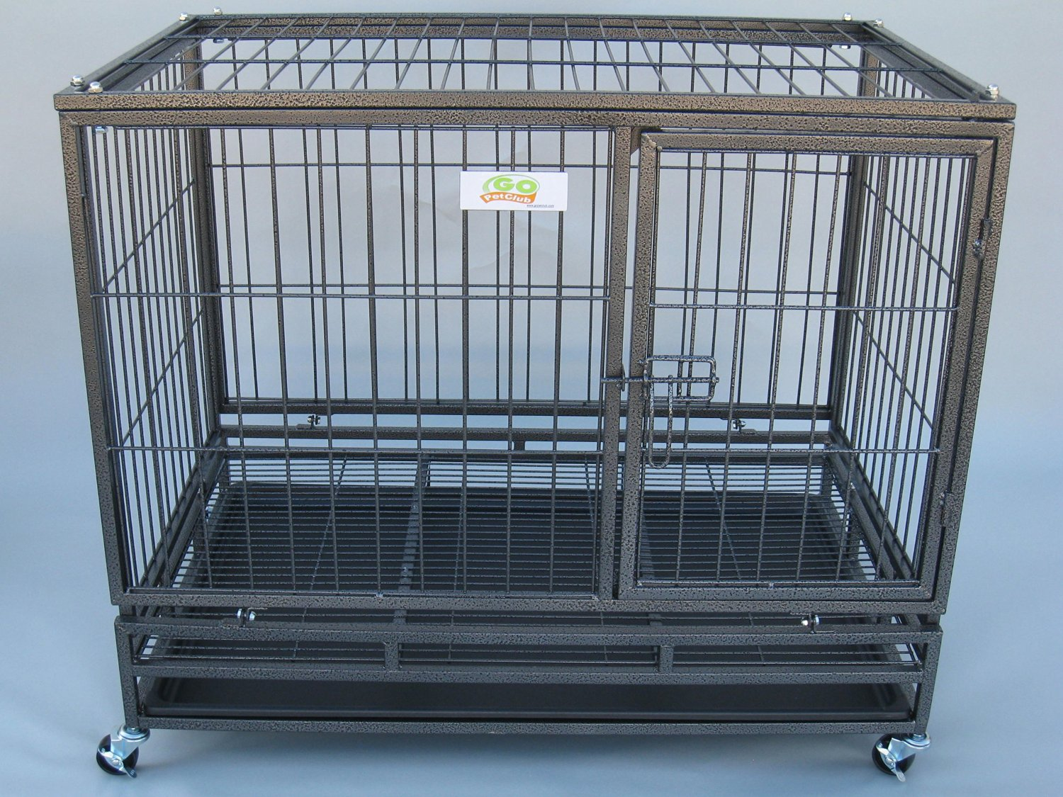 go pet heavy duty dog crate review
