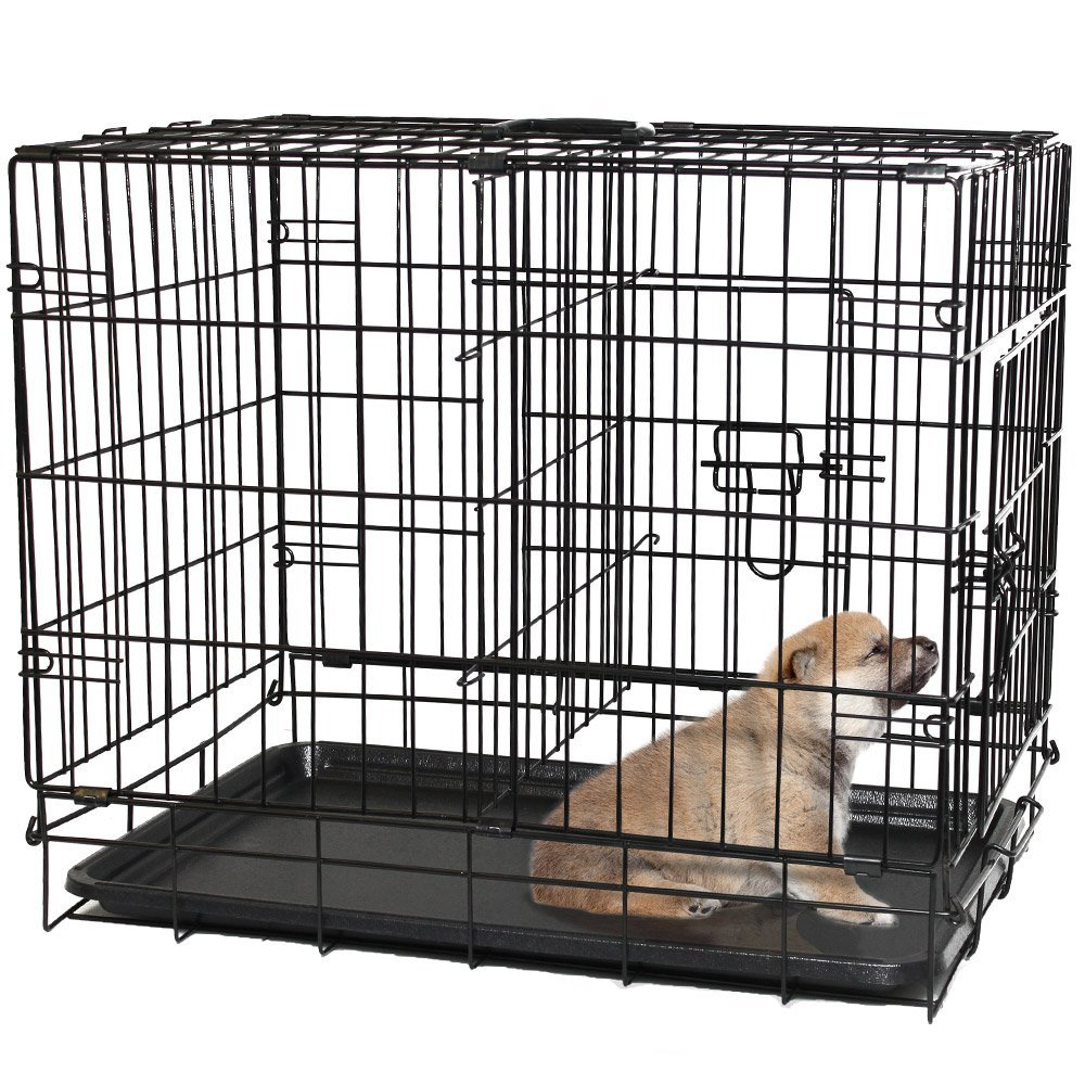 top 5 best adjustable dog crates for growing puppies