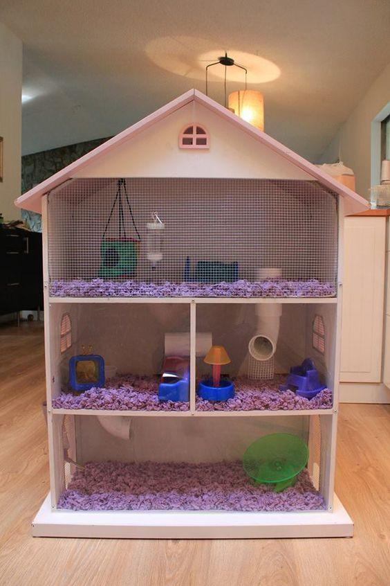 Amazing hamster cage ideas all pet cages for How to build a hamster cage