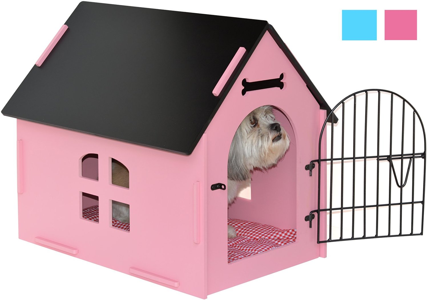 pink dog kennel - the perfect pink dog crate all pet cages