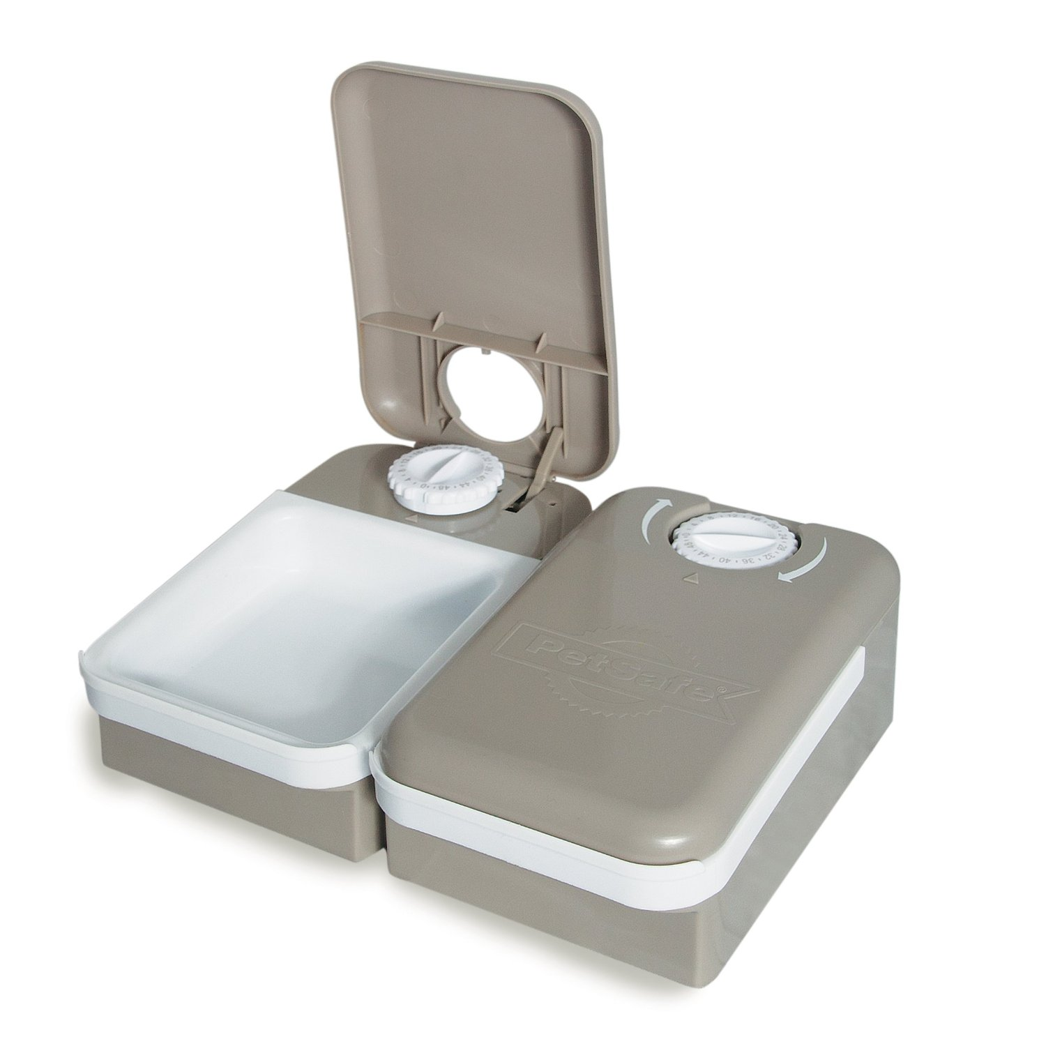 Automatic Covered Dog Food Bowl