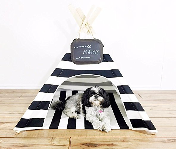 Dog teepee tent all pet cages for Dog tipi diy