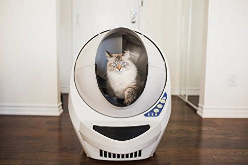 the litterrobot iii open air automatic self cleaning cat litter box is another option for catowners who do not like cleaning after their pets