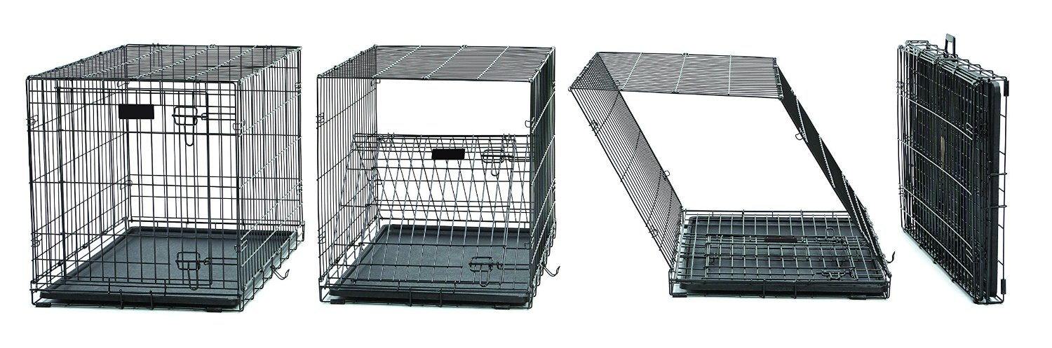 folding dog crate convenience for you safety and security for your pet - Collapsible Dog Crate